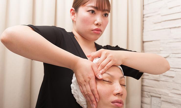 静岡市の痩身・小顔専門エステ施術の流れ04.ヒアリング